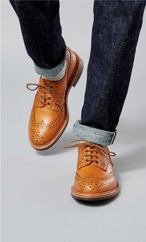 Men's Country Brogue Shoes