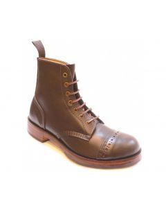 78PTC Traditional Leather Derby Boots