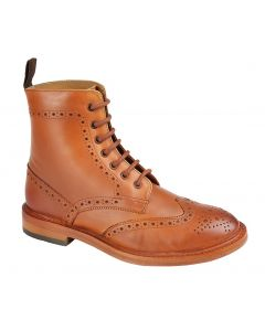 Grafters Leather Ankle Lace Boots