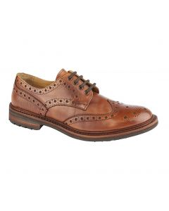 Grafters Leather Brogue Gibson Shoes