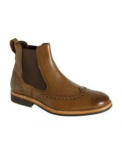 Stanley Semi-Brogue Dealer Boots